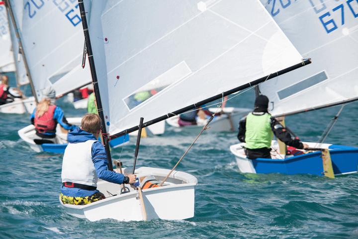 Junior Sailboat Racing