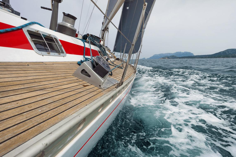 sailingboatinthesea